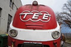 TEE im Augsburger Bahnpark