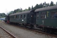 Mit der Dampflok durch den Bayerischen Wald