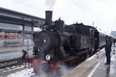 Mit der Dampflok um München herum