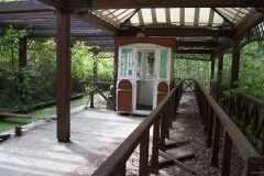 Bahnhof der Einschienenbahn