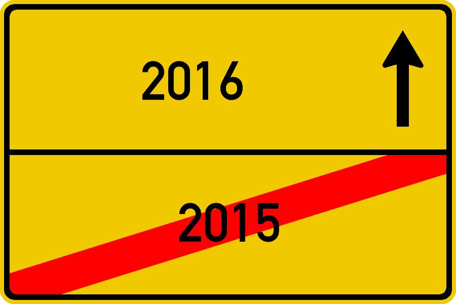 Mein Rückblick auf 2015