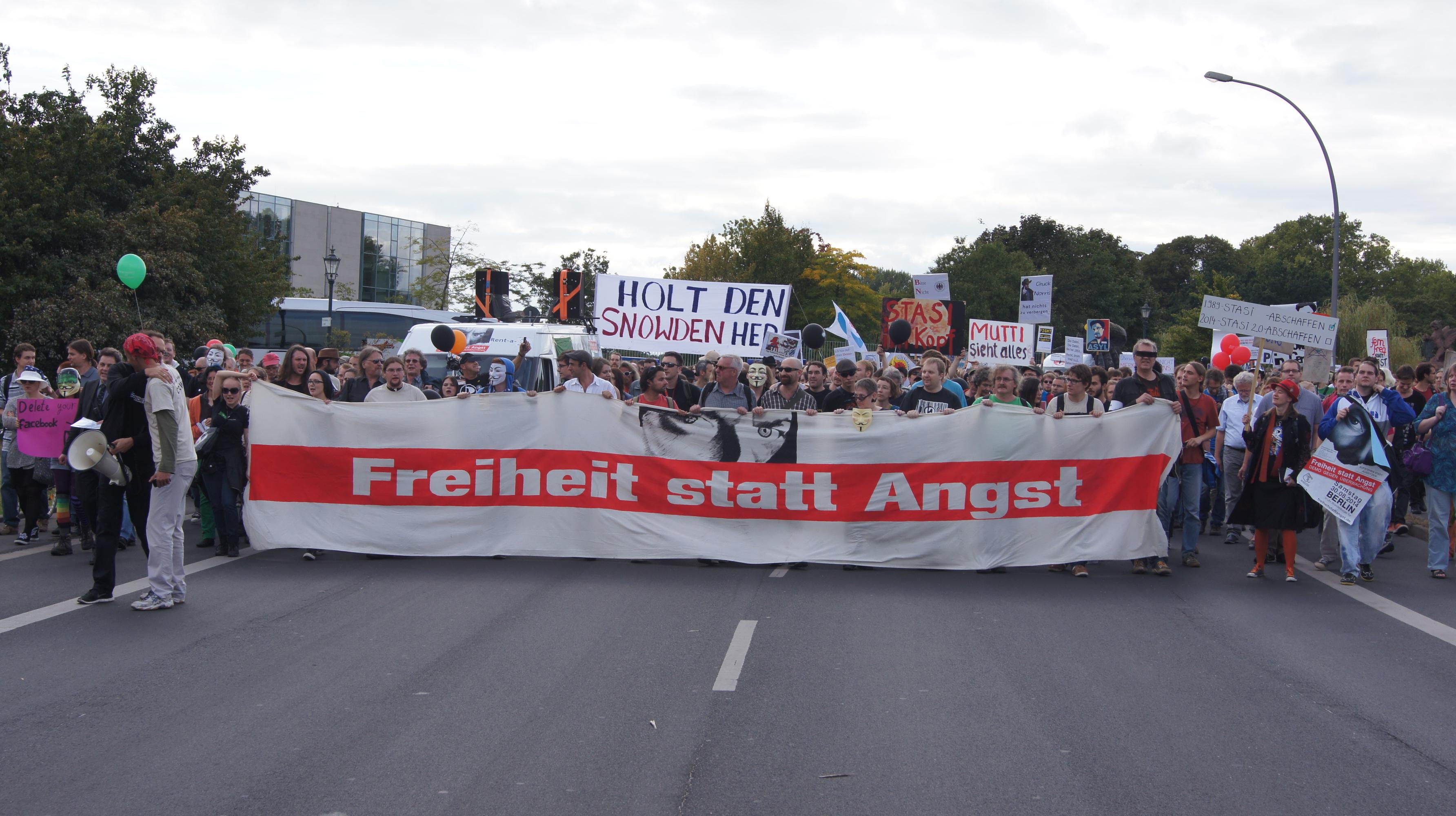 Demo Freiheit statt Angst