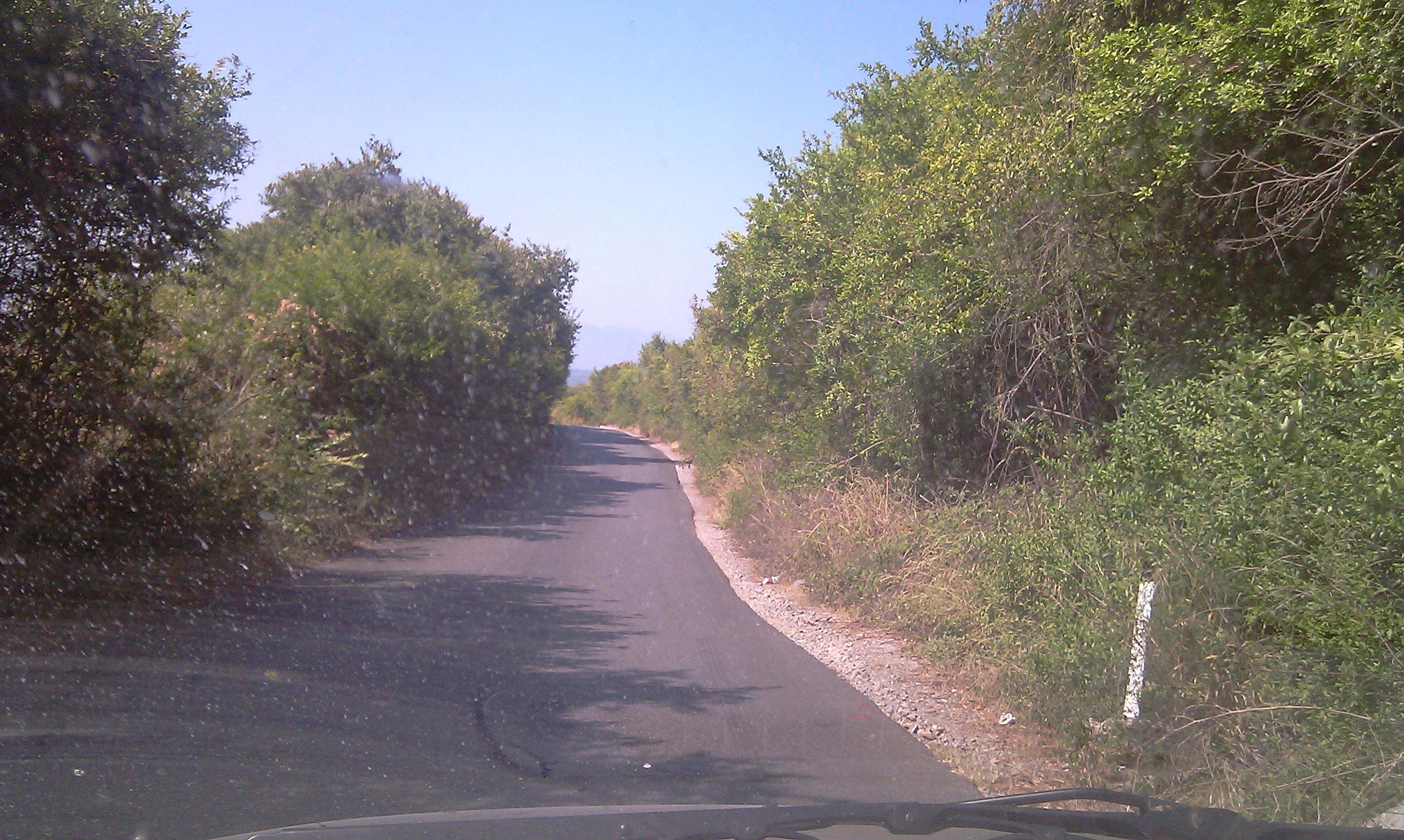 Bild 4: Die Europastraße E762 in Montenegro