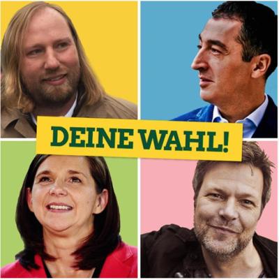 Drei Kandidaten und ein Zwangskandidat bei der Urwahl der Grünen