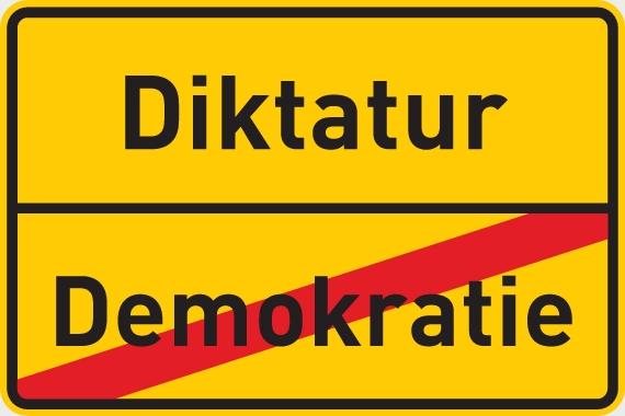 Sind wir auf dem Weg in eine Diktatur?
