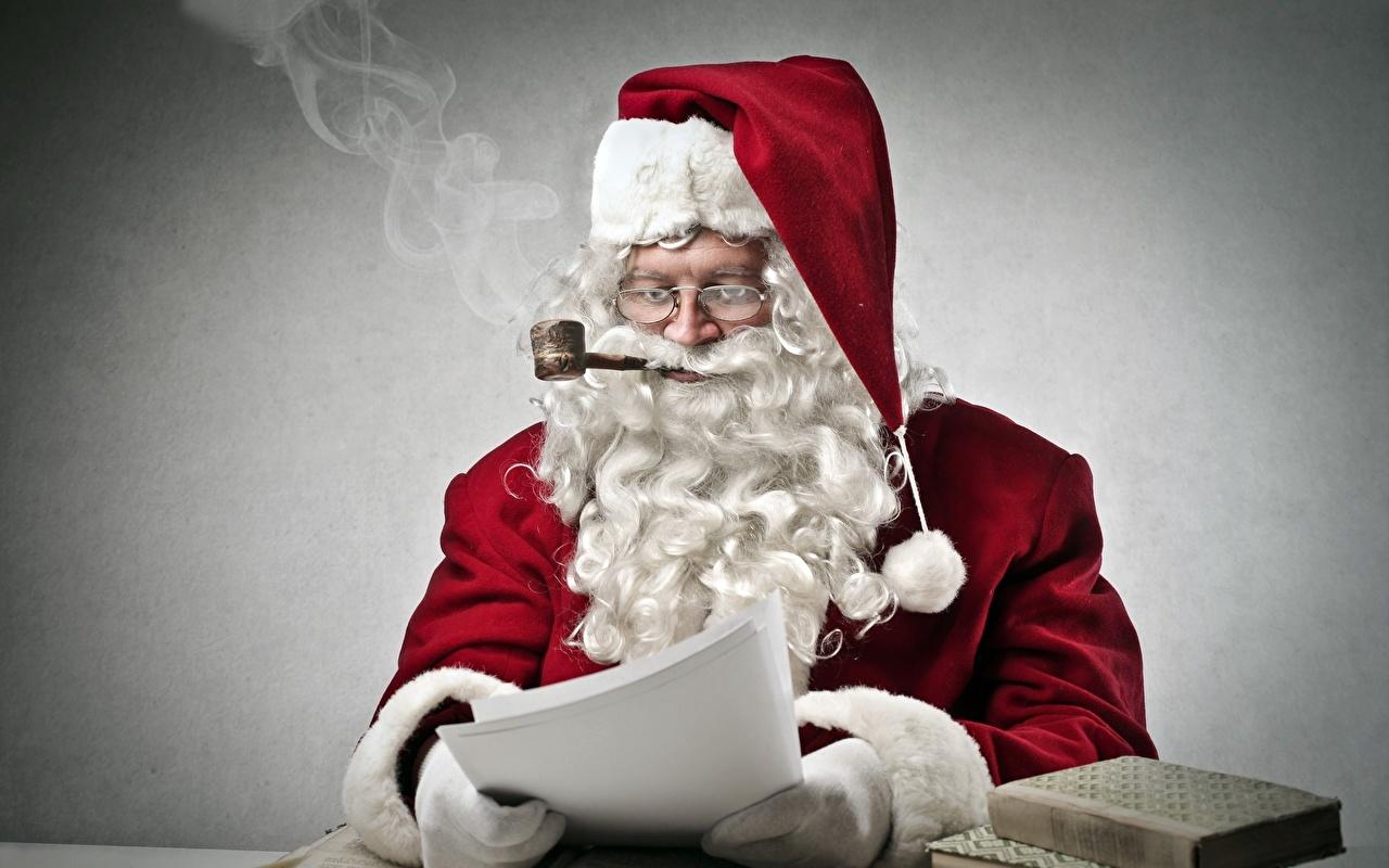 Früher durfte der Weihnachtsmann sogar noch rauchen