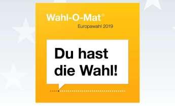 Das Logo des Wahl-O-Mat